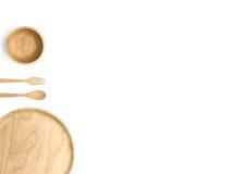 Articolo da cucina di legno fotografia stock libera da diritti