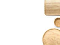 Articolo da cucina di legno fotografie stock libere da diritti