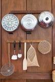 Articolo da cucina di vecchio stile Fotografia Stock