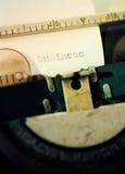 Articolo moderno Fotografia Stock