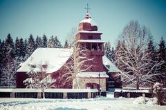 Articular drewniany kościół, Sistani Zdjęcia Royalty Free