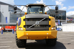 Articulate dumper Volvo Royalty Free Stock Images