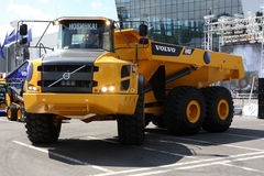 Articulate dumper Volvo Stock Images