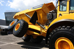 Articulate dumper Volvo Royalty Free Stock Photo