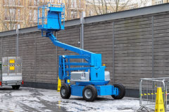Articulated boom lift Royalty Free Stock Photography