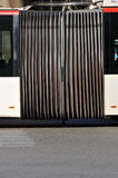 Articulated bus connection Stock Photography