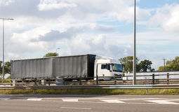 Articulated lorry Royalty Free Stock Image