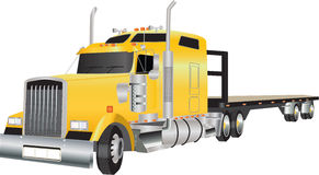 Articulated Truck Royalty Free Stock Images