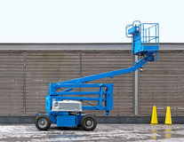 Articulating boom Royalty Free Stock Photo
