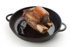 Articulation d'isolement de porc Photographie stock