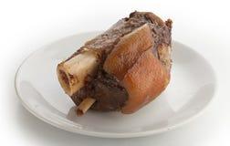 Articulation d'isolement de porc Images stock