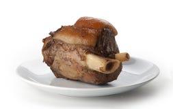 Articulation d'isolement de porc Photo stock