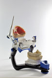 Articulator. With a set of teeth stock photos