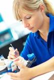 articulator dentures Fotografia Royalty Free