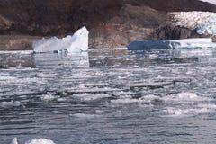 Artide Groenlandia del ghiaccio galleggiante immagine stock