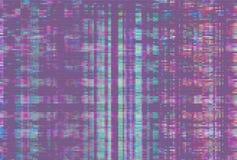 Artifact purple technology vhs glitch,  noise. Artifact purple technology vhs glitch abstract background,  noise stock illustration