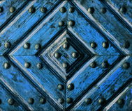 Artifact wooden door Stock Images