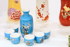 Artifactitious cups Stock Photography