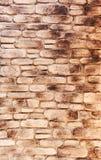 Artificail石墙,被弄脏 免版税库存照片