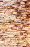 Artificail stone wall, stained Royalty Free Stock Photos