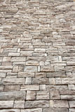 Artificail stone wall, stained Stock Photography