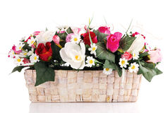 Artifical floral arrangement Stock Photography