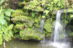 Artificial Waterfall Royalty Free Stock Images