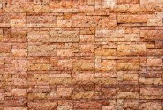 Artificial antique Background of stone wall texture photo Royalty Free Stock Image