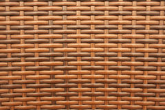 artificial bamboo weaving Royalty Free Stock Images