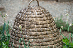 Artificial Beehive. An artificial beehive sits in a garden Royalty Free Stock Image