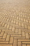 Artificial block pavement Royalty Free Stock Photography