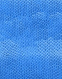 Artificial blue leather Royalty Free Stock Photo
