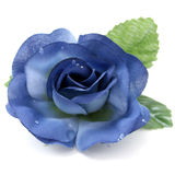 Artificial Blue Rose With Great Detail Royalty Free Stock Photos