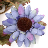 Artificial Blue Sunflower With Great Detail Royalty Free Stock Photo