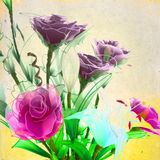 Artificial bouquet Stock Image