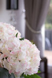 Artificial bouquet of hydrangea Royalty Free Stock Images
