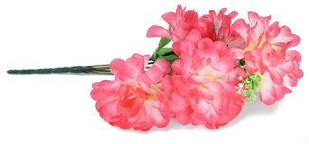 Artificial branch flowers red Royalty Free Stock Images