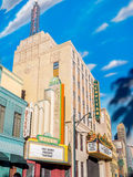 Artificial building backdrop Hollywood Studios at Disney Stock Photography