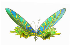 Artificial butterfly Stock Photography