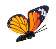 Artificial butterfly isolated Royalty Free Stock Images