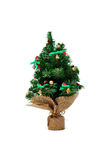 Artificial christmas pine tree Royalty Free Stock Images