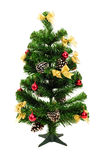 Artificial christmas pine tree Royalty Free Stock Image