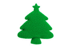 Artificial Christmas Tree Stock Photo