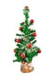 Artificial Christmas tree Stock Image