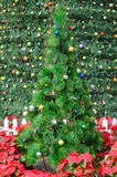 The artificial Christmas tree Royalty Free Stock Photo