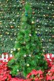 artificial christmas tree Στοκ φωτογραφία με δικαίωμα ελεύθερης χρήσης