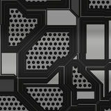 Artificial circuit board illustration Stock Images