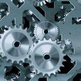 Artificial clock mechanism Stock Photography