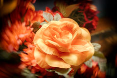 Artificial colorful flowers Stock Photography