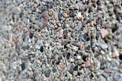 Artificial conglomerate rock concrete Stock Photo